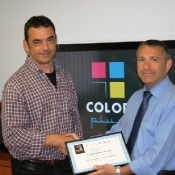 COLOR PLUS MATAR� OBTIENE EL CERTIFICADO DEL CURSO DE FOR...