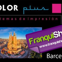 COLOR PLUS EN LA FRANQUISHOP DE BARCELONA.